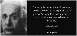 einstein empathy