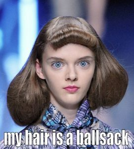 hair ballsack