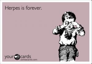 herpes forever